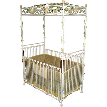 Deluxe Iron Decorative Crib