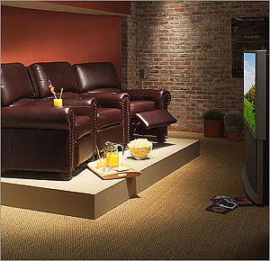 Home Theater Room Decorating Decor