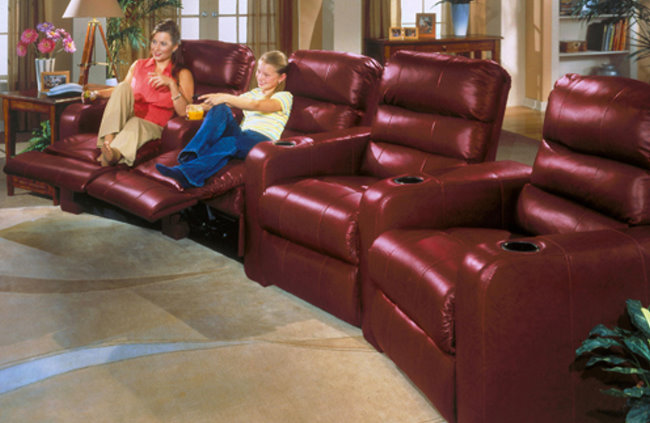 Home Theater Design Seating